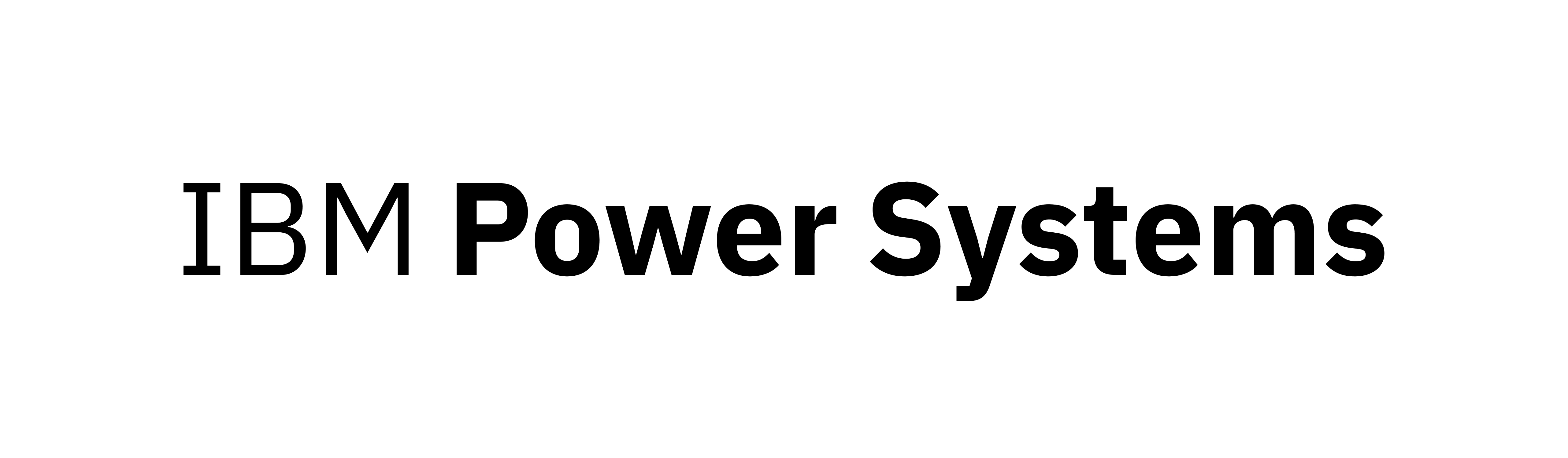 IBM Power Systems logo used with permission from IBM Corporation